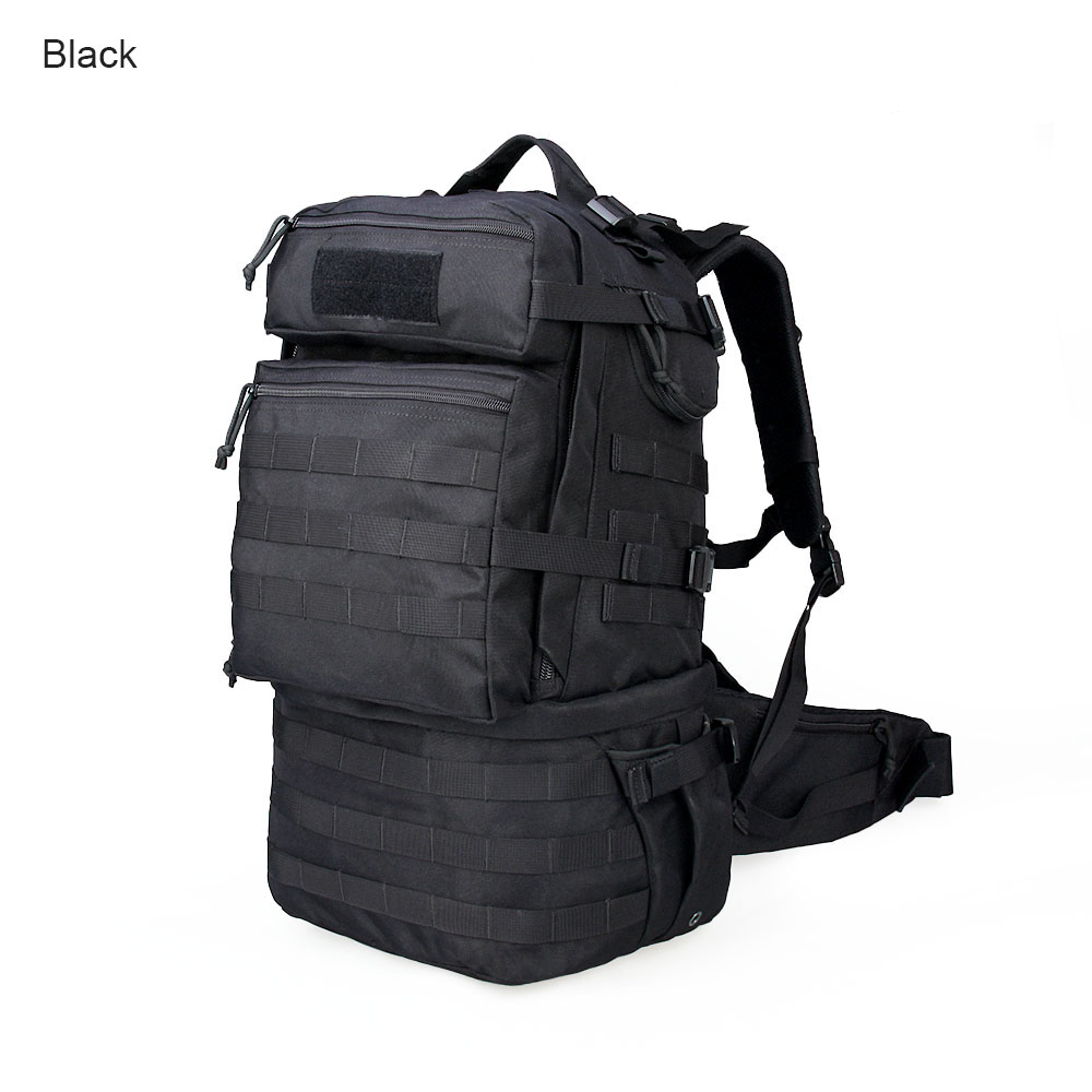 Free Shipping Military 59L Nylon Waterproof Backpack Men 1000D MOLLE Laptop Phone Pocket Backpackage Bottle Pocket Bags CL5-0062 universal nylon cell phone holster blue black size l