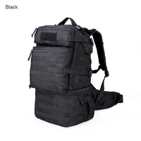 Free Shipping Military 59L Nylon Waterproof Bag Men 1000D MOLLE Laptop Phone Pocket Pack Bottle Pocket Bags PP5 0062