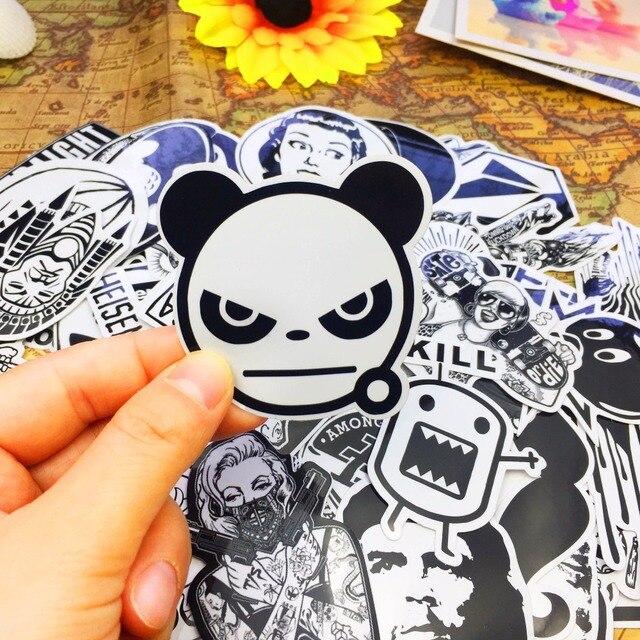 ONNPNNQ 100x Mixed Skateboard Stickers Graffiti Laptop. US $6.99 / Pack Free  Shipping