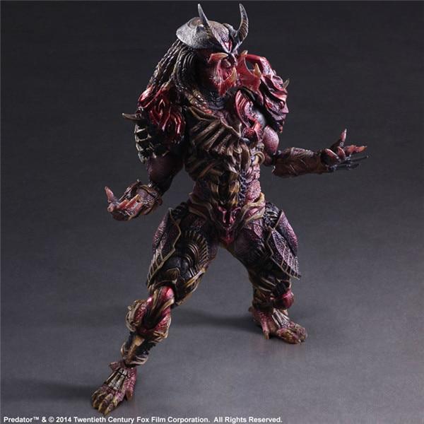 Alien vs. Predator Scar Predator Action Figure Model Toy | 28cm
