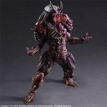 Alien vs. Predator Scar Predator Action Figure Model Toy | 28cm