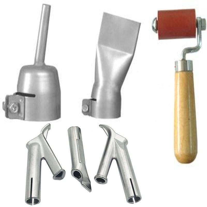 Welding Nozzle Speed Welding Tips Flat And Round Triangular Nozzle For PVC Plastic Welder Hot Air Welding Soldering Supplies 1PC