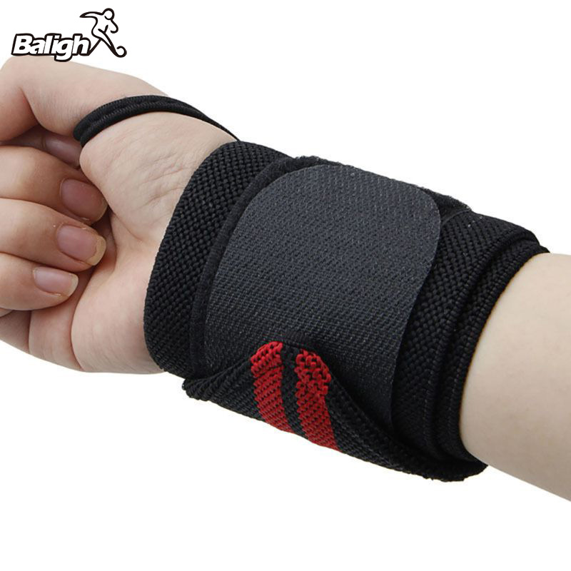 1Pcs Hand Wraps Wrist Strap Weight Lifting Wrist Wraps Powerlifting Bodybuilding Breathable Wrist Support Train ...