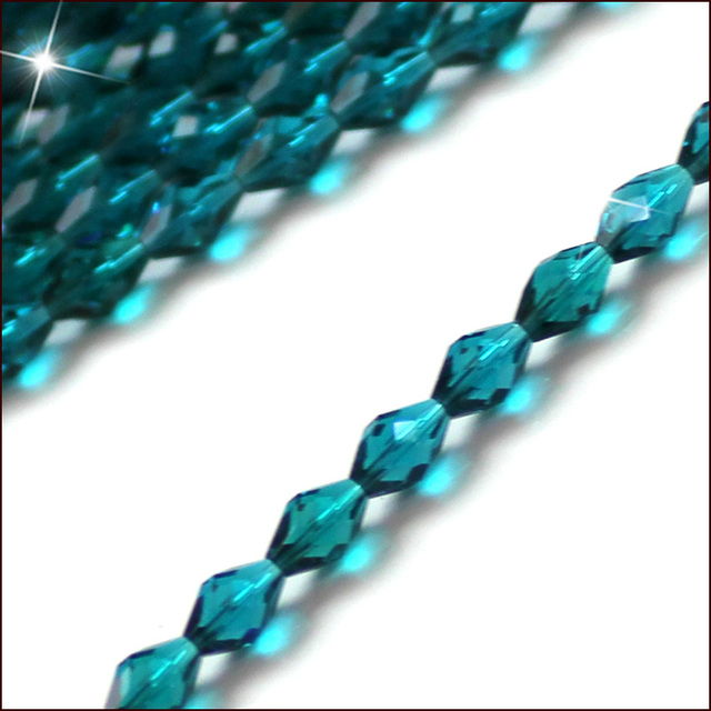 6mm 8mm 10mm Crystal Glass Czech Beads 100pcs Clear Crystal Beads Faceted Glass Oval Beads Crafts Materials For Jewelry