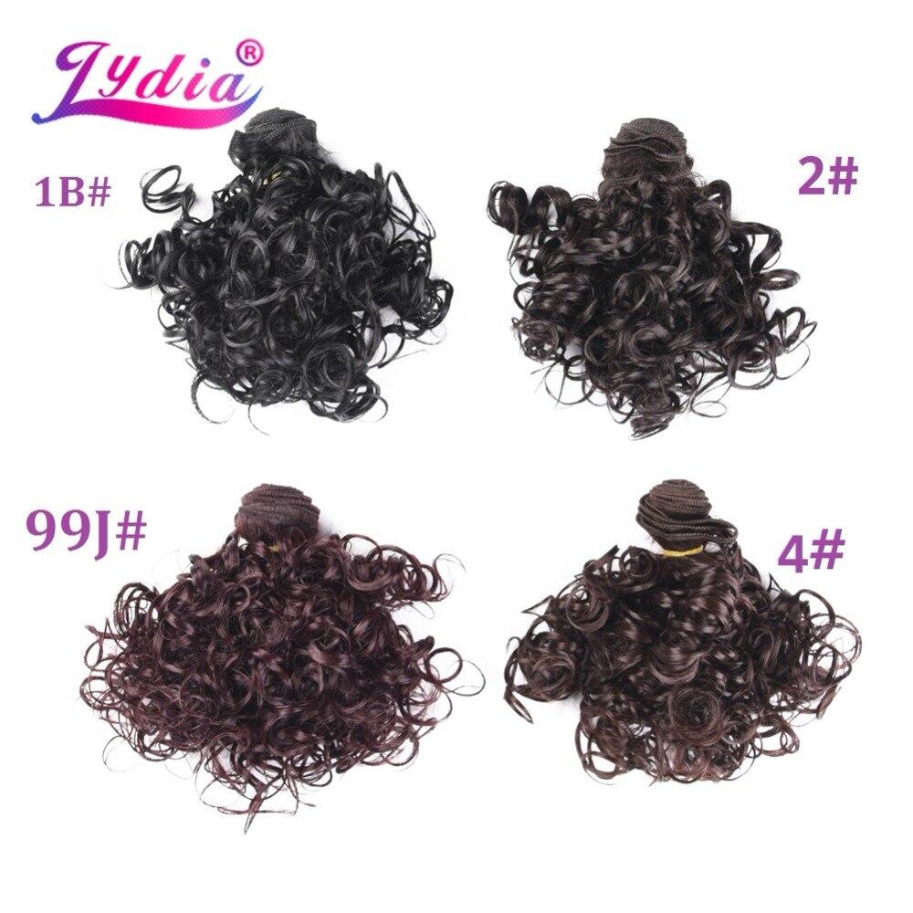 onda para o cabelo feminino pacotes marrom escuro tecelagem