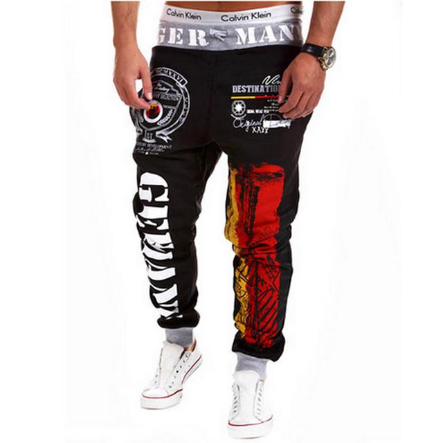 Mens corredores harem pants pantalones hombre pantalon hip hop jogger sweatpants calças dos homens