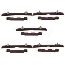 Yibuy 5 x Height ADJUSTABLE Rosewood Bridge for Mandolin Guitar