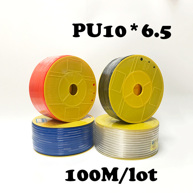 PU10*6.5 100m/roll PU tube 10*6.5mm air pipe to air compressor pneumatic component