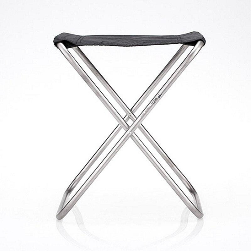 Keith chaise en titane pêche en plein air chaises pliantes Super léger 247g Ti2501 - 3
