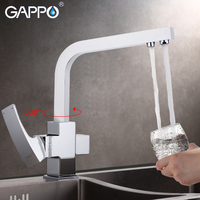 GAPPO Kitchen Faucet With Filtered Water Kitchen Water Tap Brass Water Sink Crane Kitchen Faucet Mixer