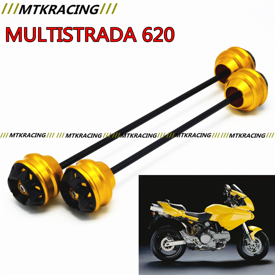 MTKRACING For Ducati MULTISTRADA 620 2003-2006 CNC Modified Motorcycle Front and rear wheels drop ball / shock absorber free delivery for ducati monster s4r 2003 2008 cnc modified motorcycle drop ball shock absorber