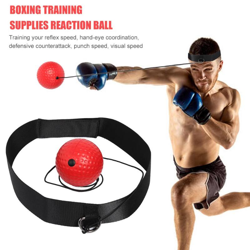 Fight Speed Ball Reflex Speed For Training Boxing Punch Exercise Equipment USA