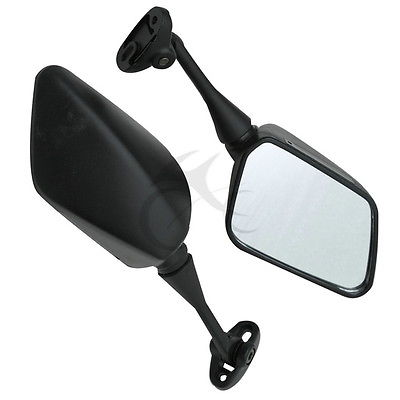 Image 2 - Black Side Rear View Mirrors For Honda CBR600F4 1999 2000 CBR600F4I 2001 2005 Motorcycle Accessories-in Side Mirrors & Accessories from Automobiles & Motorcycles