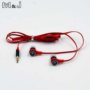 Image 5 - M & J JM21 oryginalne słuchawki Stereo kolorowe marki słuchawki douszne do odtwarzacza gier telefon komórkowy PC dla Xiaomi iPhone