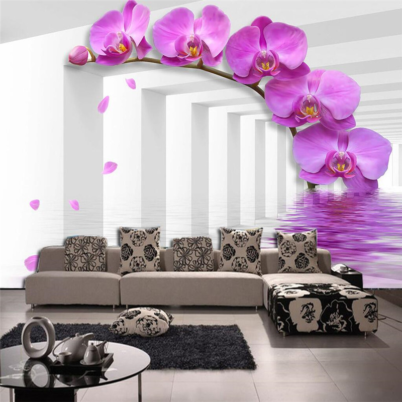 large painting home decor white channel magnolia hotel background modern mural for living room. Black Bedroom Furniture Sets. Home Design Ideas