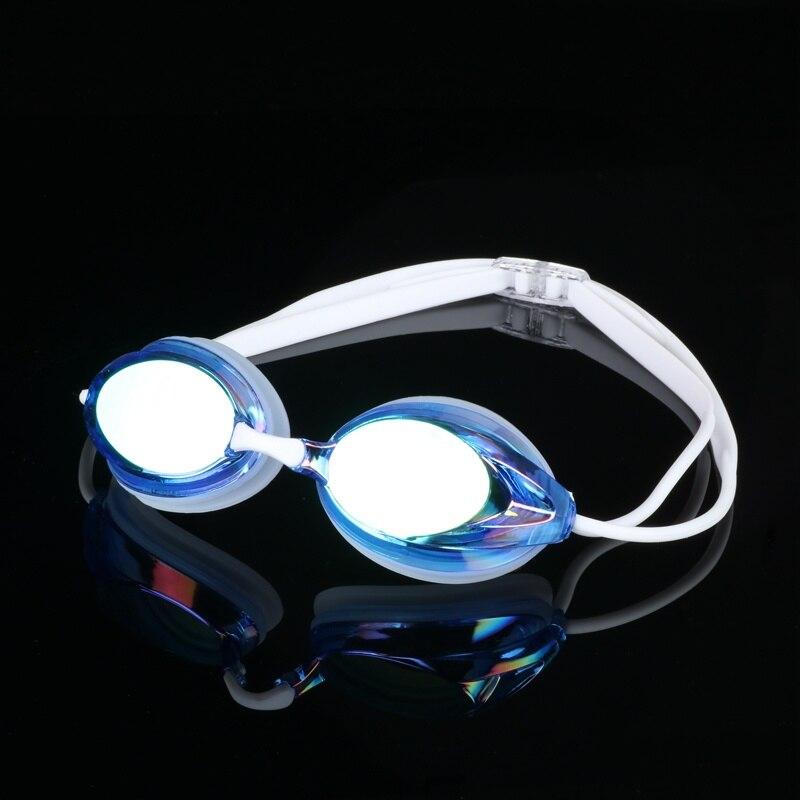 HD plating goggles waterproof anti fog Men Women Swimming Goggles Plating Waterproof UV Adjustable Profession Glasses Box