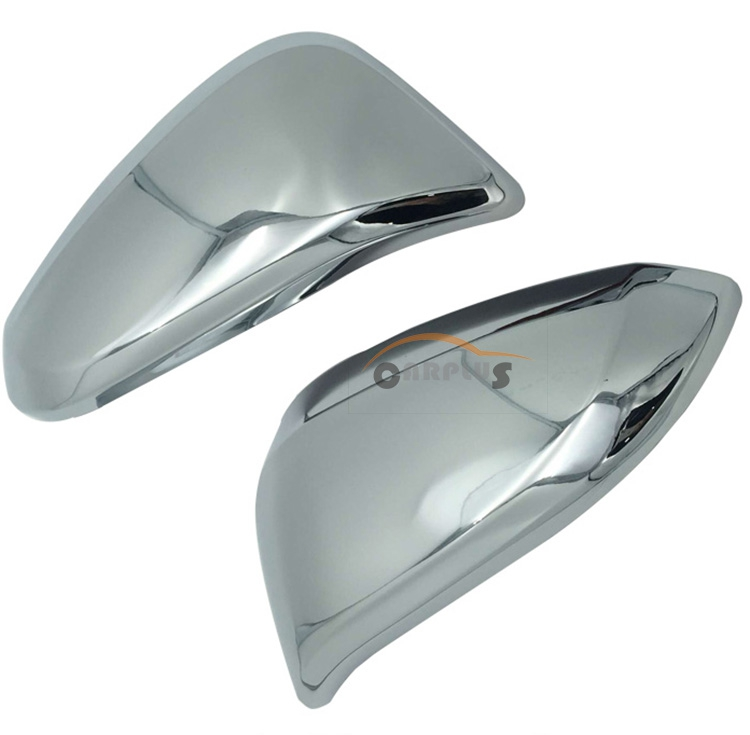 high quality For fortuner innova accessories ABS chrome rear vmirror cover cap with lamp ...
