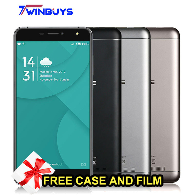 Doogee X7 Pro Mobile Phone 6.0 Inch Android 6.0 MTK6737 Quad Core 2GB 16GB 13MP 3700mAh OTG Fingerprint VR 4G LTE Smartphone