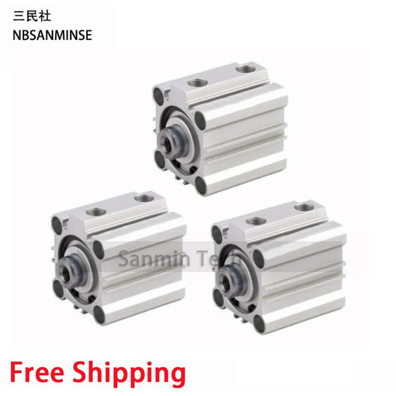 CQ2B Compact Cylinde SMC Type Pneumatic Parts Cylinder Double Acting Single Rod Pneumatic Compact Cylinder High Quality Sanmin loft antique retro spider chandelier art black diy e27 vintage adjustable edison bulb pendant lamp haning fixture lighting