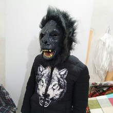 2018 The highest selling Fancy Dress Ideal Classic Realistic Animal Gorilla Mask for Halloween props
