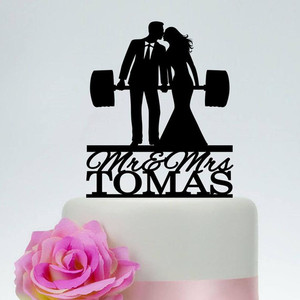 Funny Wedding Cake Topper Pers