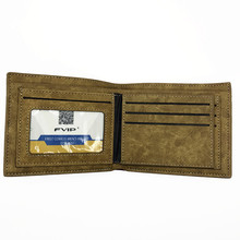 Attack on Titan Short Wallet With Coin Pocket Zipper Pouch