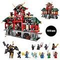 БЕЛА 9797 Ninjagoed Marvel Ниндзя Битва за Город Строительные Блоки Кирпич Игрушки Ninjagoed Совместимость С Legoe