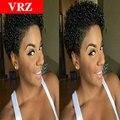 Вьющиеся Волосы Человека Бразильский Девственные Волосы Бесклеевого Полный Парик Шнурка передние Фигурные Парики Человеческих Волос Для Черных Женщин 7А Топ Продаж
