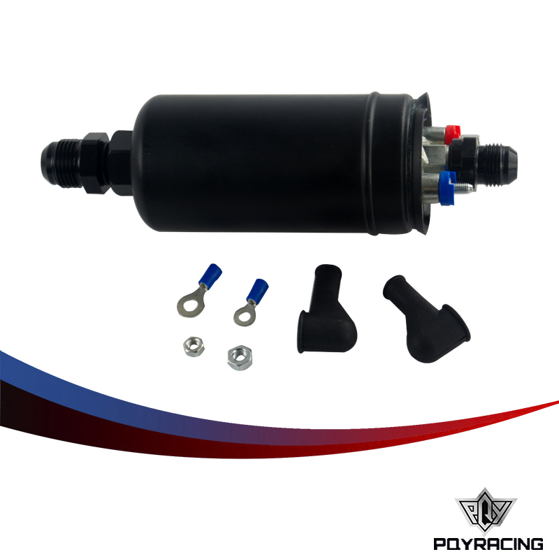 Prix pour PQY RACING-EFI 380LH 1000HP TOP QUALITÉ Externe de Pompe À Carburant E85 Compatible 044 style Nouveau PQY-FPB003
