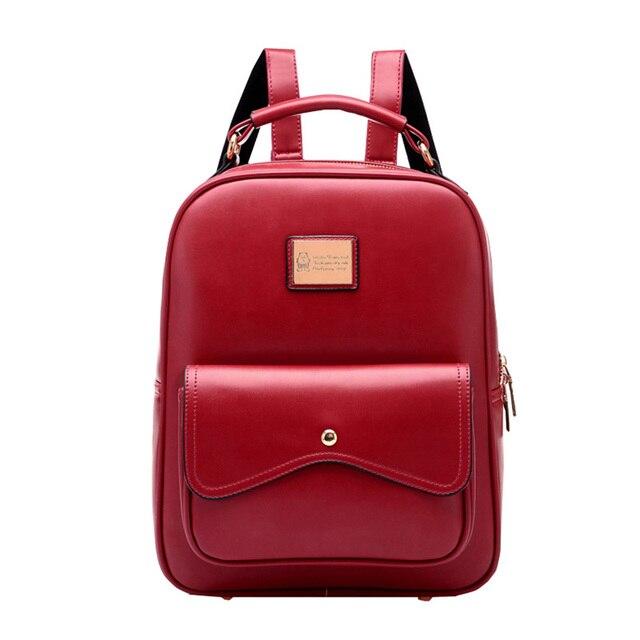 Senhora quente moda antigo do estilo da faculdade mulheres bolsa de viagem mochila versão Coreana de alta qualidade sacos de escola