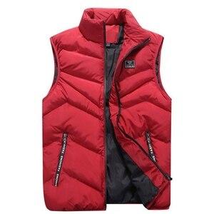 Image 2 - FALIZA Gilet pour hommes décontracté, veste et manteaux sans manches, chaud et épais, MJ110 nouvelle collection printemps hiver