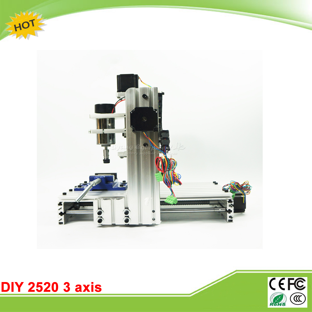 cnc router Engraving machine  DIY 2520 3axis Engraving Drilling and Milling Machine no tax to RU подвесная люстра crystal lux krus sp4 boll