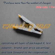 SOP16 test socket SOIC16 Fixture 150mil 170mil 200mil 208mil SOP8/SOP14/SOP16 socket cm6800g sop16
