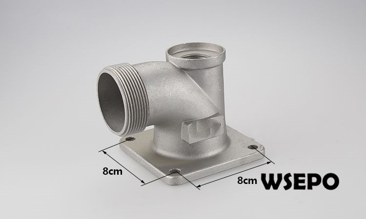 OEM Quality! Outlet Elbow Port for Gasoline or Diesel Engine Powered 2 inch(In.) Water Pump Set factory direct supply inlet 2 5 in outlet 2 in cast iron centrifugal water pump powered by wse 152f 2 5hp gasline engine