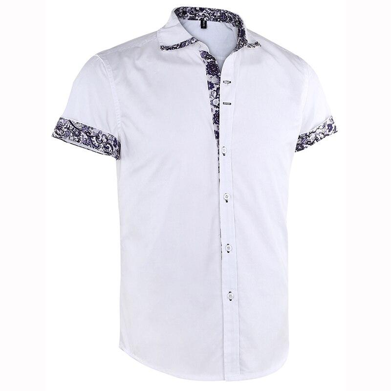 Men's Short Sleeve Floral Print  Casual Shirts  1