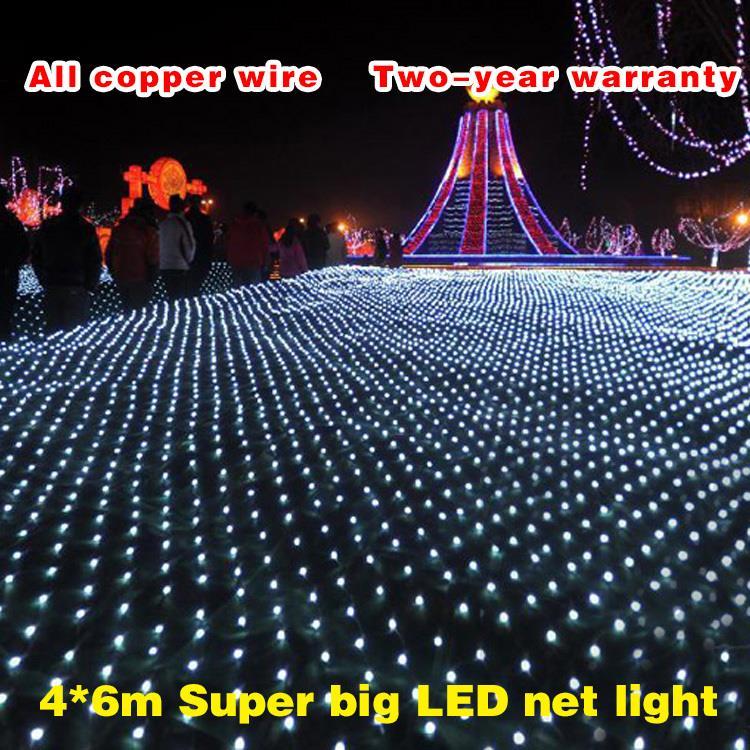 2*3 m 320 <font><b>Led</b></font> 8 flash modes 220V super bright net string light Christmas lights New year light wedding ceremony free shipping