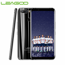 """هاتف ذكي LEAGOO S8 Pro بشاشة 5.99 """"FHD + IPS 2160*1080 ذاكرة وصول عشوائي 6 جيجابايت + مساحة تخزين 64 جيجابايت يعمل بنظام الأندرويد 7.0 MT6757CD معالج ثماني النواة كاميرا خلفية مزدوجة كاميرا 4G هاتف محمول"""