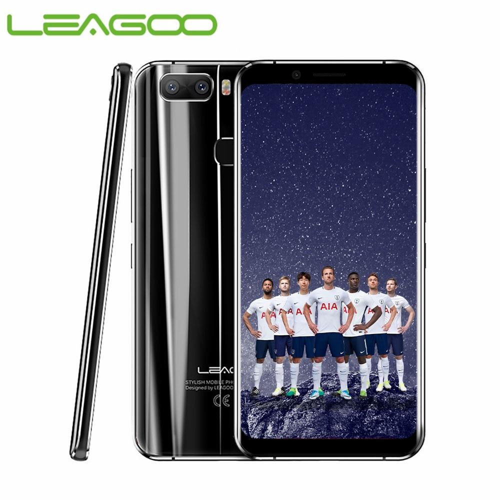 LEAGOO S8 Pro Smartphone 5.99 FHD + IPS 2160*1080 écran 6GB + 64GB Android 7.0 MT6757CD Octa Core double cames arrière 4G téléphone portable
