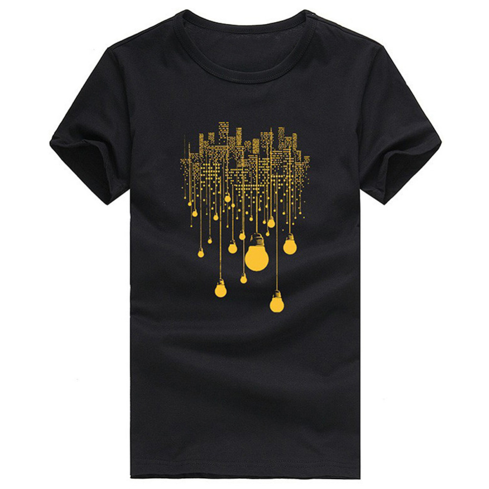 Brand new 2017 mens 3d printed cotton t shirt summer for Printed t shirts mens fashion