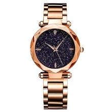 Simple Dress Watch Women High Quality Stainless Steel Band Quartz Watch Hot Rose Gold Ladies Bracelet Wristwatch for Ladies все цены