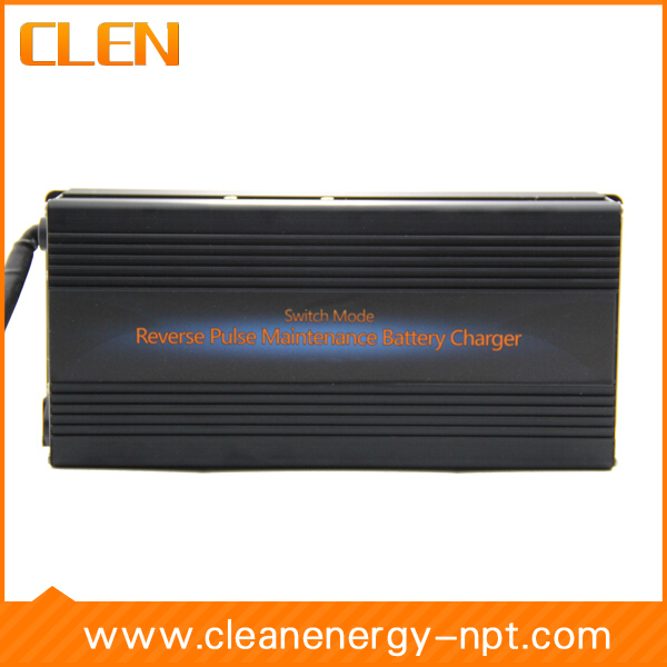 цена на Top Quality 12V 35A GEL/AGM/ Lead Acid Battery Charger Car Battery Charger Auto Pulse Desulfation Charger