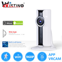 Wistino CCTV Security WIFI IP Camera HD 960P 1080P Wireless VR Panoramic Camera Indoor Smart Home