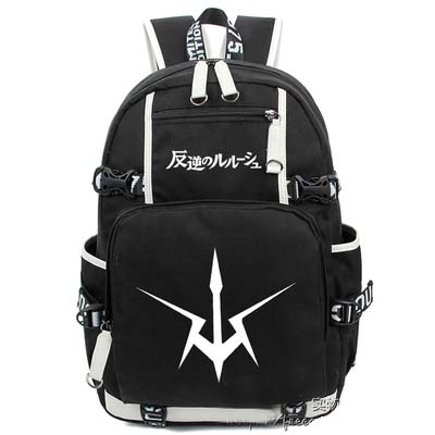 Anime Code Geass Backpack Cosplay Canvas Bag Luminous Schoolbag Cartoon Nature Travel Bags anime tokyo ghoul dark in light luminous satchel backpack schoolbag shoulder bag boys gilrs cosplay gifts