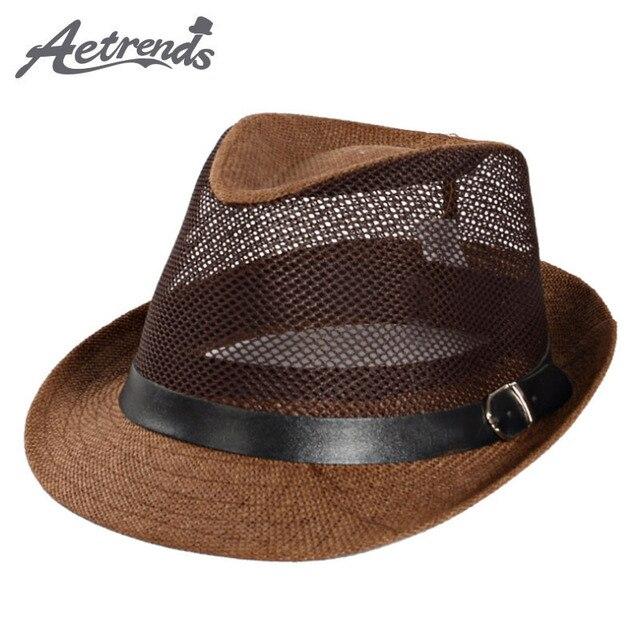 Sombrero de jazz de cuero para hombre Sombrero de Panamá de cuero Sombrero de piel de oveja Sombrero de fieltro Sombreros de cuero Jet7hYB