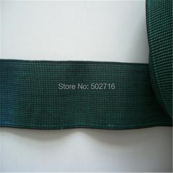 Manufacturers Wholesale And Retail 50 Mm Green High Tenacity Elastic Webbing  Use For Sofa, And