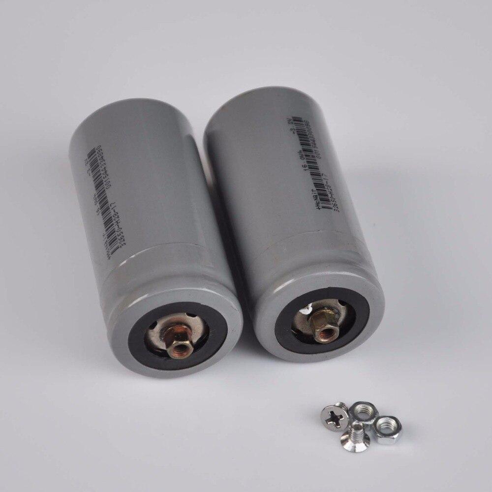 2-4PCS 3.2V Rechargeable LiFePO4 Battery 5000mah 32650 Lithium Ion Polymer Cell Pack For 12V E-bike UPS Power HID Solar Light