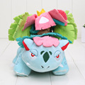 Pikachu Plush Toys 15cm Mega Evolution Venusaur 25cm Pikachu Soft Stuffed Toy Animals Doll