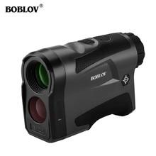 цена на BOBLOV 6X digital Golf Range Finder hunting rangefinder Distance Meter entfernungsmesser afstandsmeter telemetre laser de golf