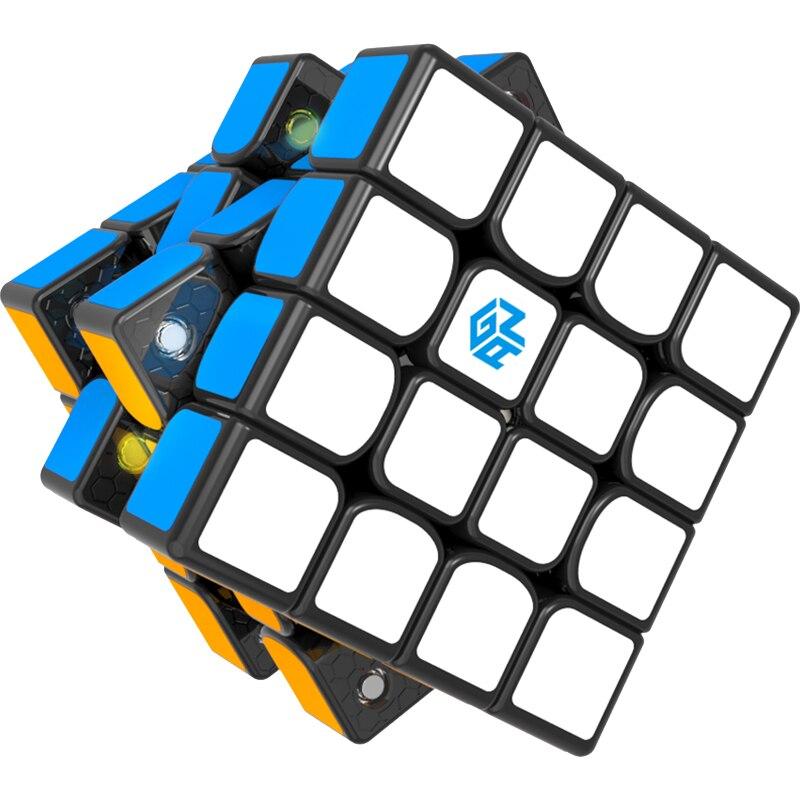 1 pièces GAN460 M 4*4*4 Puzzle magique vitesse Cube professionnel Gans cubo Magico Version jouets livraison gratuite