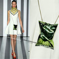 Designer Runway Style Multi color hologram Chip bag Chic women party bag Mini chain bag Bolsa